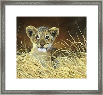 King To Be Framed Print by Lucie Bilodeau