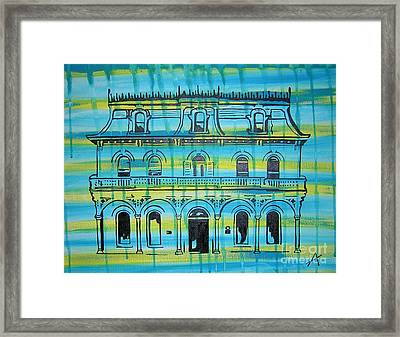 King William Steves Homestead Framed Print by Amanda Furr