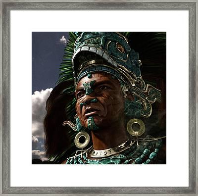 King Zotz 13 Framed Print by Ian Cuming