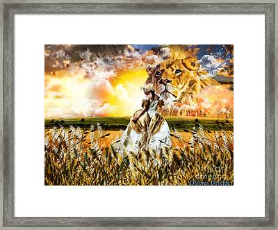 Kingdom Gold Framed Print