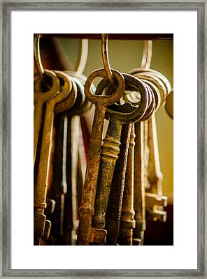 Kingdom Keys Framed Print