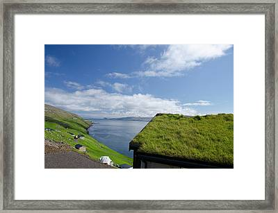 Kingdom Of Denmark, Faroe Islands Framed Print