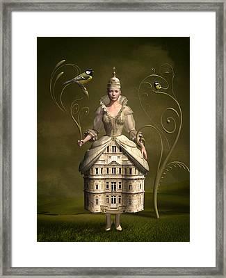Kingdom Of Her Own Framed Print by Britta Glodde
