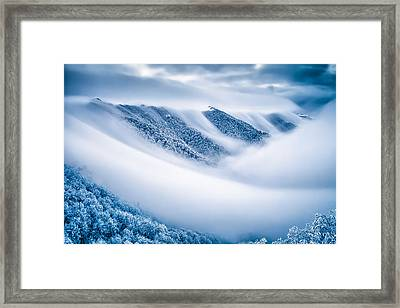 Kingdom Of The Mists Framed Print by Evgeni Dinev