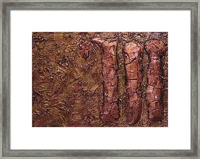 Kingly Three Framed Print