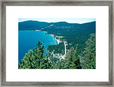 Kings Beach 1956 Framed Print by Cumberland Warden