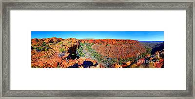 Kings Canyon Central Australia Framed Print