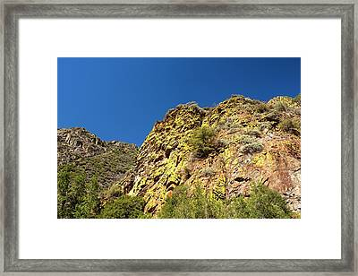 Kings Canyon National Park Framed Print
