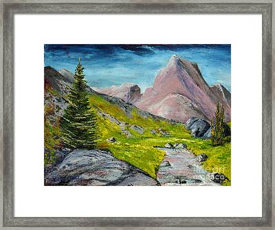 Kings Canyon Park Framed Print