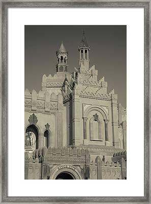 Kings City Religious Theme Park, Eilat Framed Print