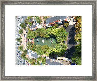 Kings Dominion - 121216 Framed Print by DC Photographer
