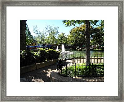Kings Dominion - 121221 Framed Print