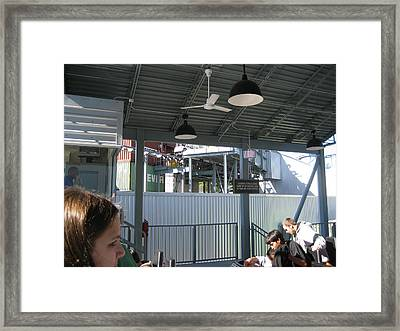 Kings Dominion - Back Lot Stunt Coaster - 12122 Framed Print by DC Photographer