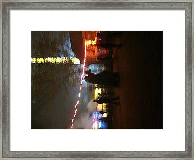 Kings Dominion - Halloween - 121224 Framed Print by DC Photographer