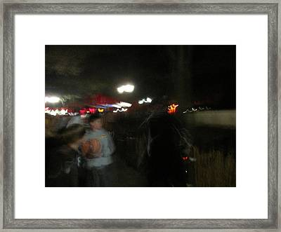Kings Dominion - Halloween - 121238 Framed Print by DC Photographer