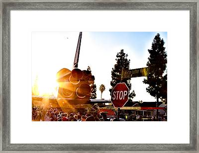 King's Endeavour Framed Print by Gregory Worsham