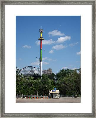 Kings Island - 12122 Framed Print by DC Photographer