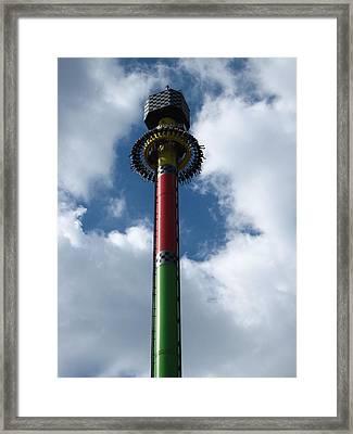 Kings Island - 121227 Framed Print by DC Photographer
