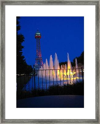 Kings Island - 121240 Framed Print by DC Photographer