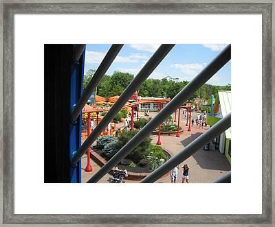 Kings Island - 121269 Framed Print by DC Photographer