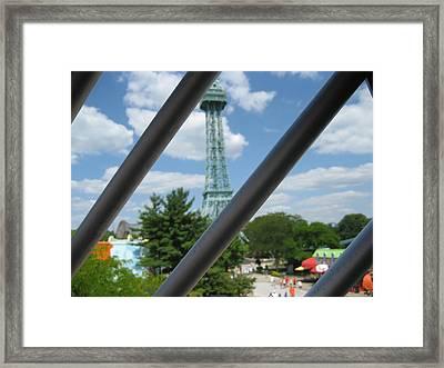 Kings Island - 121273 Framed Print by DC Photographer