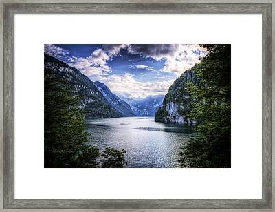 Kings Lake Framed Print