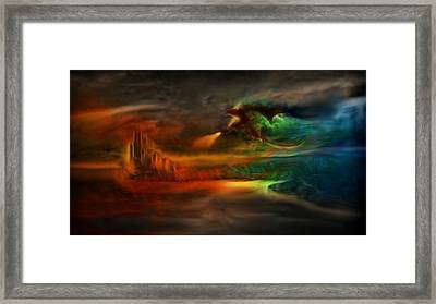 Kings Landing - Winter Is Coming Framed Print