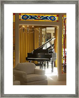 Kings Piano Framed Print
