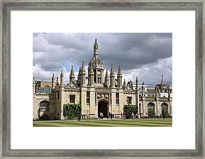 King's Quad Framed Print by Stephen Stookey