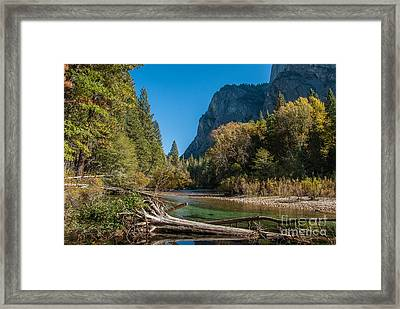 Kings River 1-7807 Framed Print