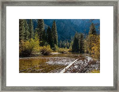 Kings River 1-7810 Framed Print