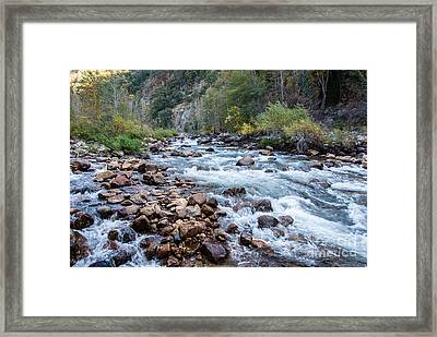 Kings River 1-7818 Framed Print