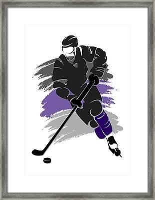 Kings Shadow Player2 Framed Print by Joe Hamilton