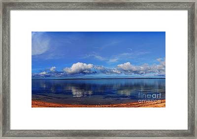 Kingscote View Framed Print by Stephen Mitchell