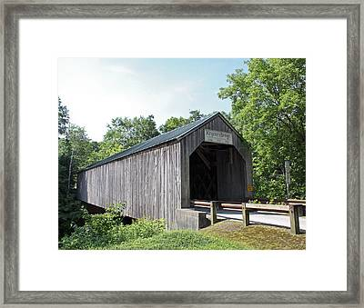 Kingsley Bridge Framed Print