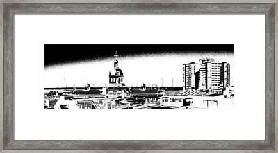 Kingston City Hall Framed Print