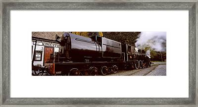 Kingston Flyer Vintage Steam Train Framed Print by Panoramic Images