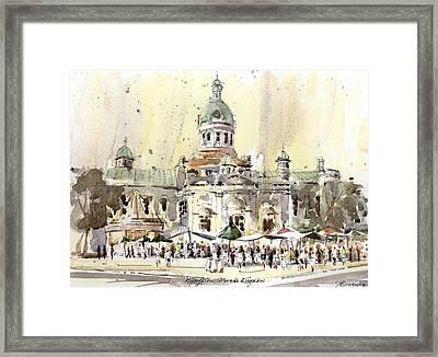 Kingston Market Square Framed Print