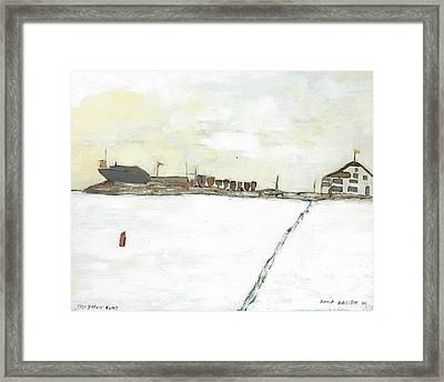 Kingston Yacht Club Framed Print by David Dossett