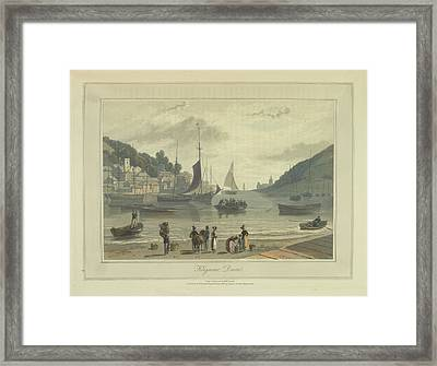 Kingswear Framed Print by British Library