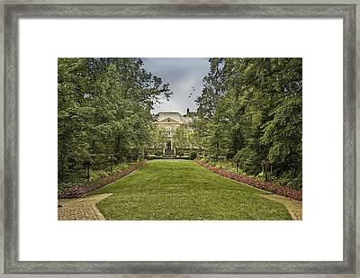 Kingwood Center Framed Print