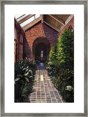 Kingwood Framed Print by Terri  Meyer