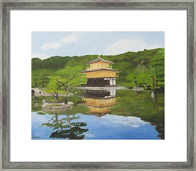 Kinkaku Ji Framed Print