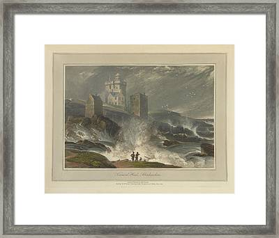Kinnead Head In Aberdeenshire Framed Print