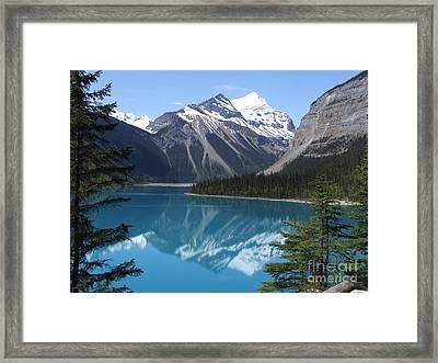 Kinney Lake - Canada Framed Print