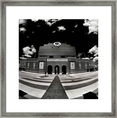 Kinnick Stadium Framed Print