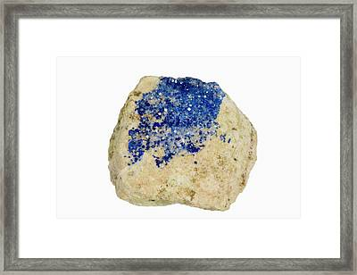 Kinoite Framed Print by Science Stock Photography/science Photo Library