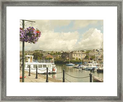 Kinsale Harbor Framed Print by Winifred Butler