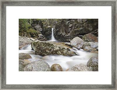 Kinsman Falls - Franconia Notch State Park New Hampshire Framed Print by Erin Paul Donovan