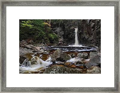 Kinsmans Falls Framed Print by Mike Farslow